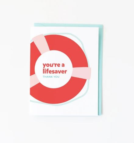 Lifesaver card