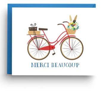 Vintage Bicycle card