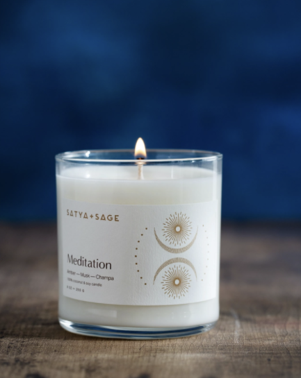 """Meditation"" Coconut Soy candle"