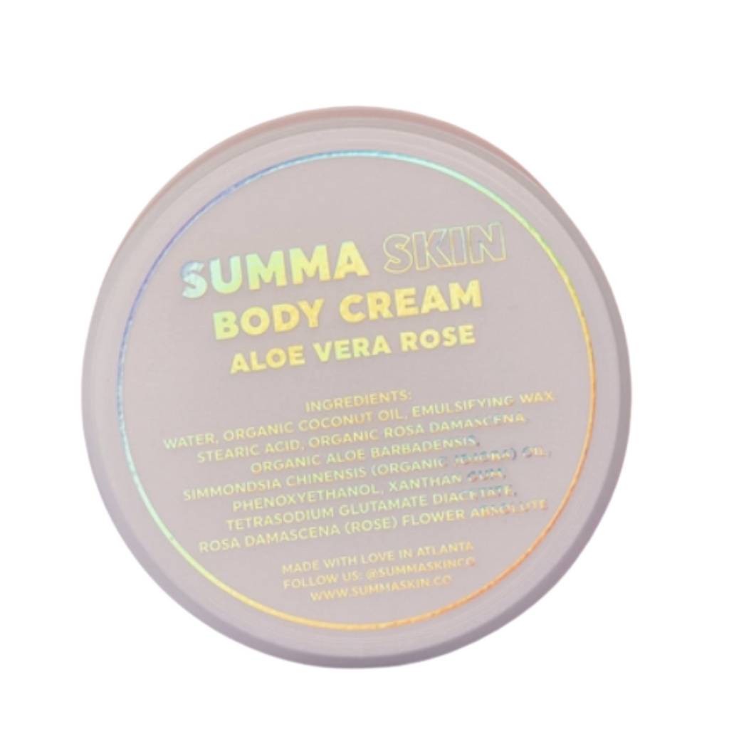 Aloe Vera Rose Body Cream