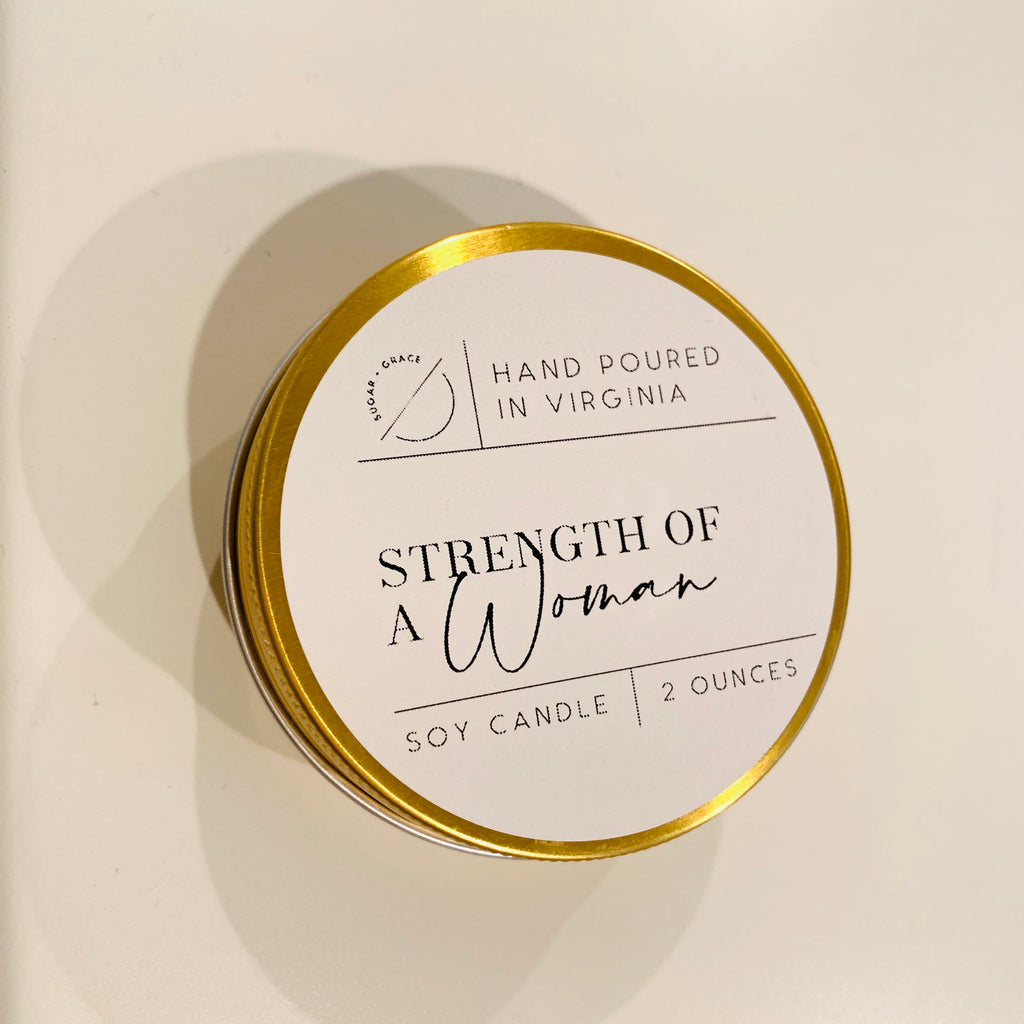 Strength of a Woman Soy candle