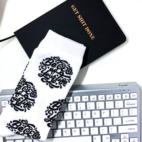 """Be CEO of Your Life"" socks"
