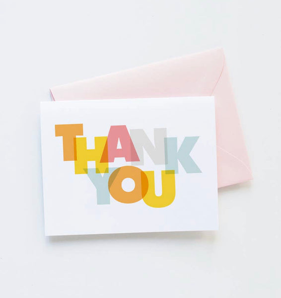 Modern Thank you Card