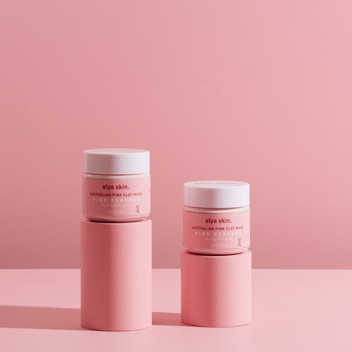 Pink Clay Mask Duo - Splendr