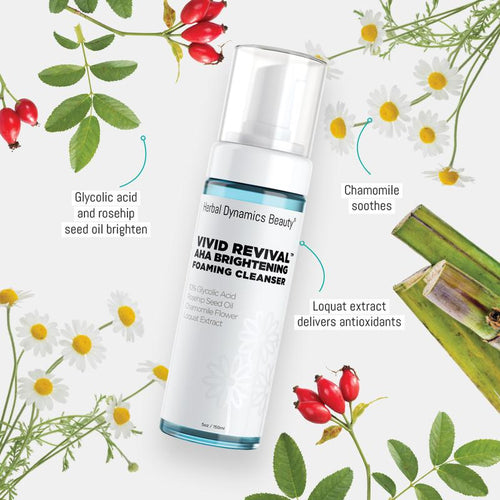 Vivid Revival™ AHA Brightening Foaming Cleanser - Splendr
