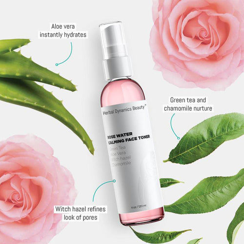 Rose Water Hydrating Facial Toner - Splendr