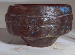Black Multicolored Bowl