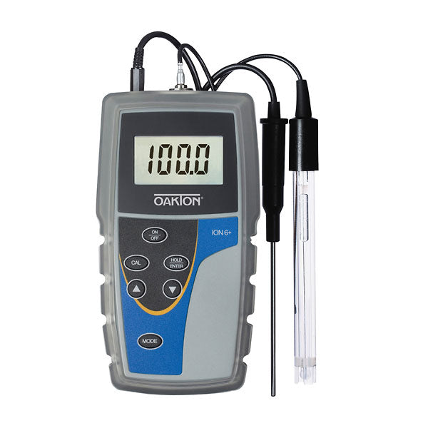 Medidor Oakton Ion 6+ pH/°C/mV/Ion