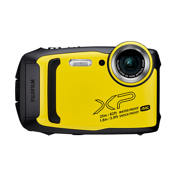 Cámara Digital Compacta Impermeable Fujifilm FinePix Serie XP140 - 16.4 MP / WiFi (Amarillo)