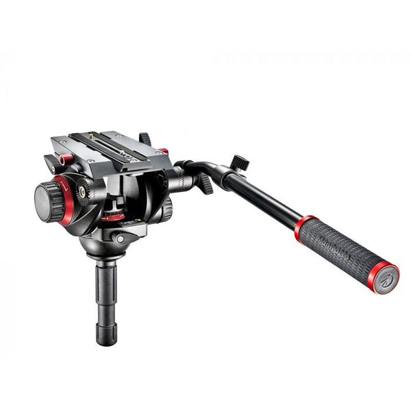 Rótula de Vídeo Manfrotto 504HD Semiesfera 75 mm/12 kg