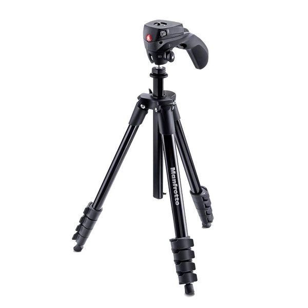 Trípode Manfrotto Compact Action hasta 155 cm/1,5 kg