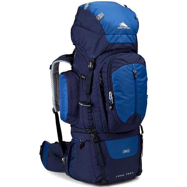 Morral Para Camping High Sierra Classic 2 90L Color Azul Navy-Royal