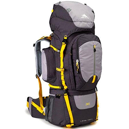 Morral Para Camping High Sierra Classic 2 90L Color Gris-Amarillo
