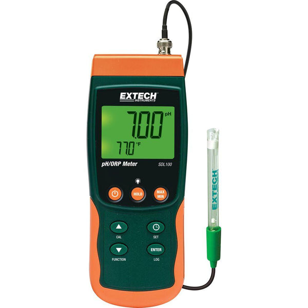 Data Logger pH/ORP/Temperatura Extech SDL100