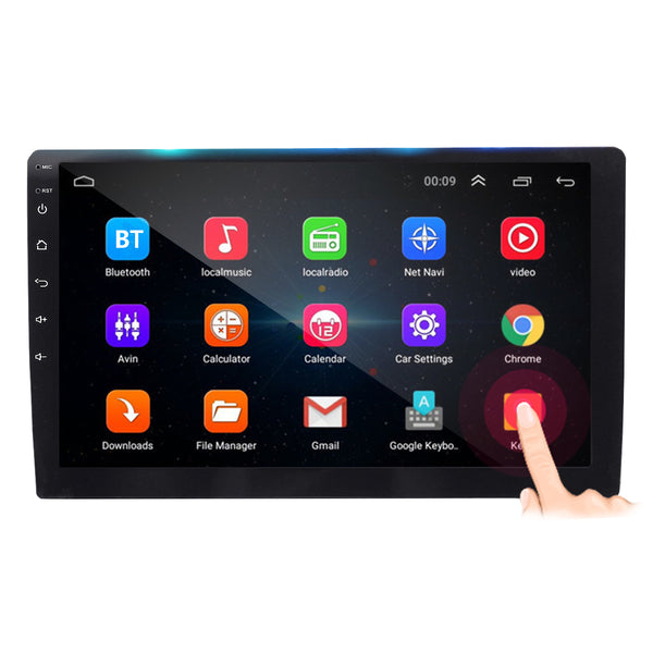 AutoVX Android 8.1 Car Stereo With 10.1 Inch Touch Screen