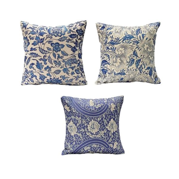 HomeDevine™ Decorative Throw Pillow Covers - 4 Piece Set