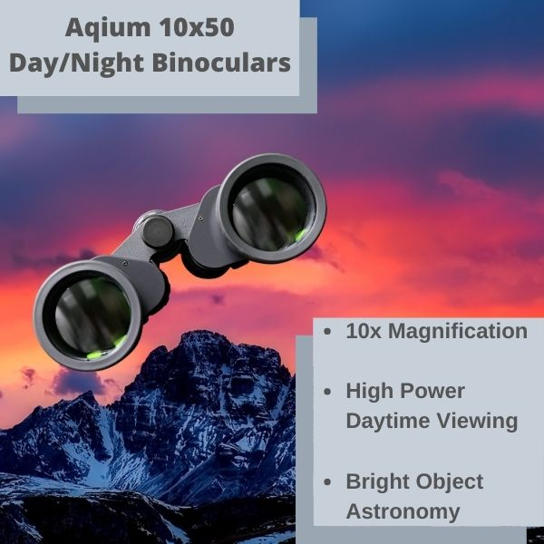 Aqium 10x50 Day/Night Binoculars