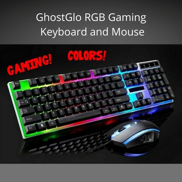 GhostGlo™ RGB Gaming Keyboard and Mouse