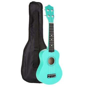 Haleah Green Soprano Ukulele Package