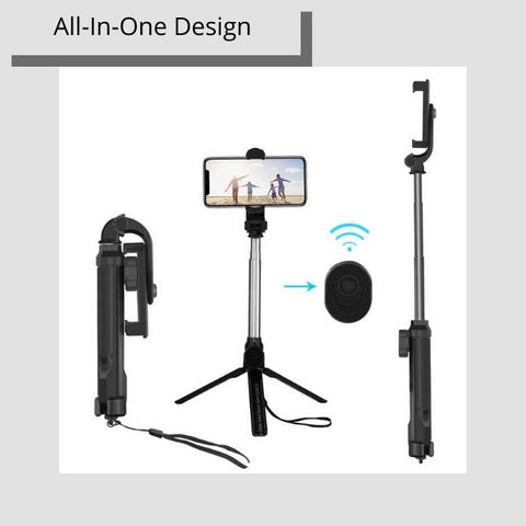 Tplay™ All-In-One Bluetooth Selfie Stick Tripod