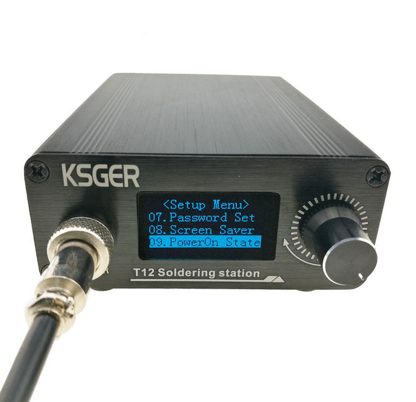 T12 Single Channel Digital Soldering Station