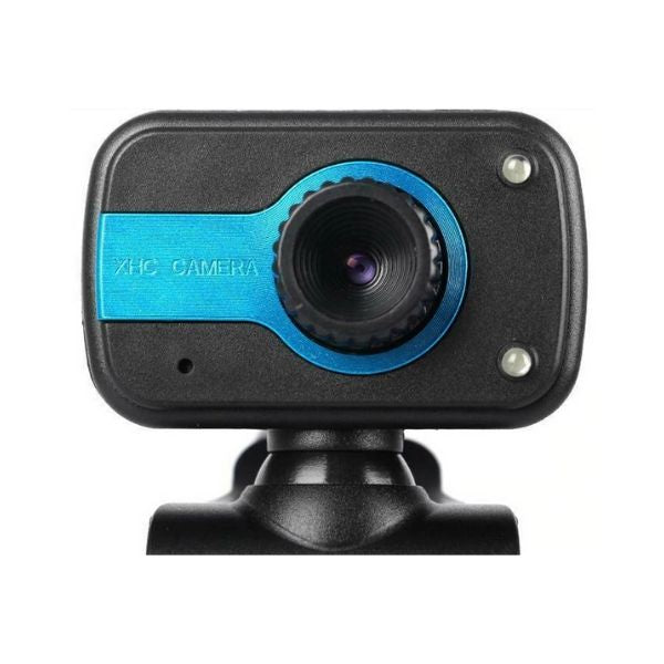 CamVX USB Webcam With Microphone for PC Laptop & Desktop