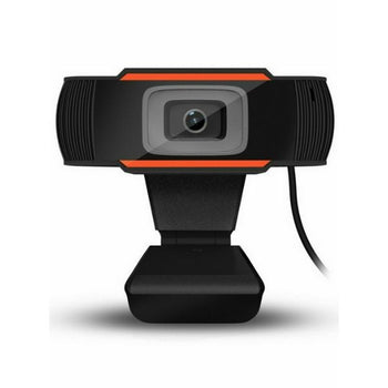 CamVX 720P HD Webcam With Microphone for PC Laptop & Desktop