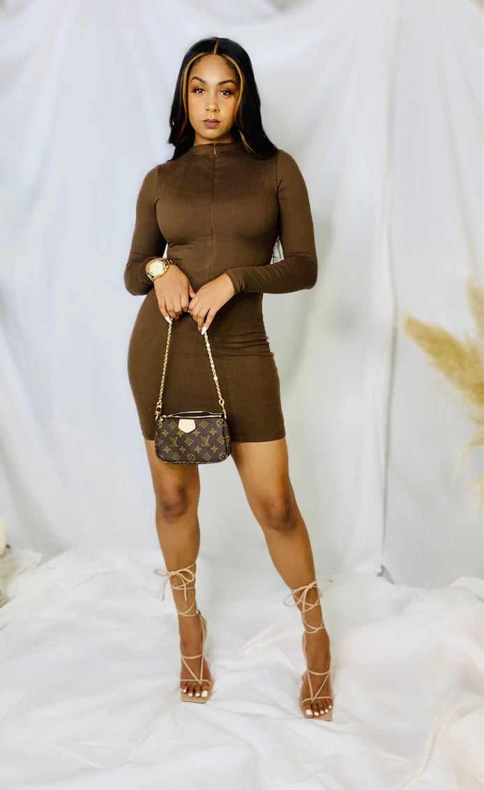 Melanin Mini Dress