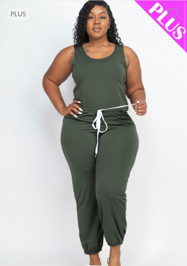 """The Melissa"" Jumpsuit (PLUS SIZE)"