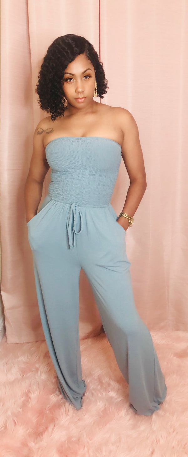 "The ""Londyn"" Jumpsuit (Blue Gray)"