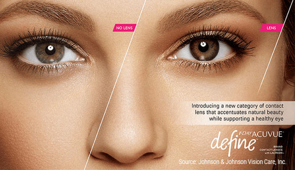 Acuvue Define Accent Style Before and After
