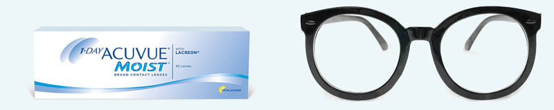 Free glasses with contact lens purchased