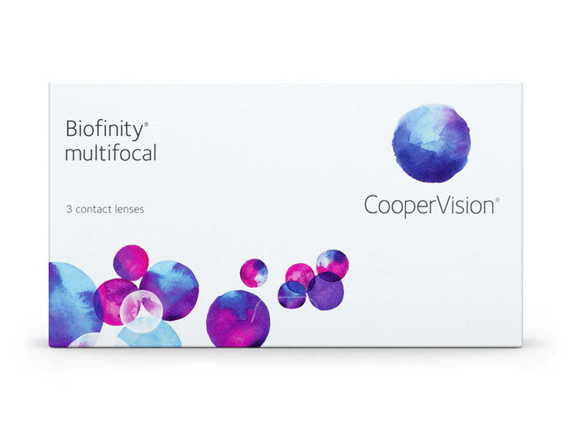 Biofinity Multifocal Monthly Contact Lenses for Presbyopia by CooperVision