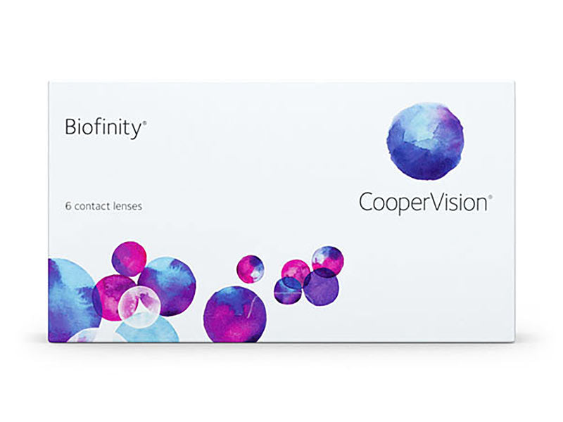 Biofinity Monthly Contact Lenses by CooperVision