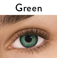 Freshlook One-Day Color Daily Disposable Green Contact Lenses by Alcon