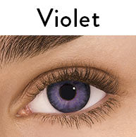 Freshlook One-Day Color Daily Disposable Violet Contact Lenses by Alcon