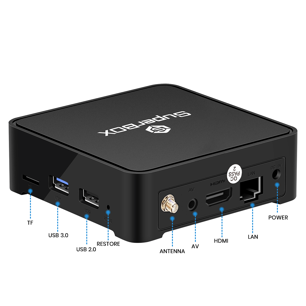 SuperBox S1 Plus - OneTime Payment TV Box