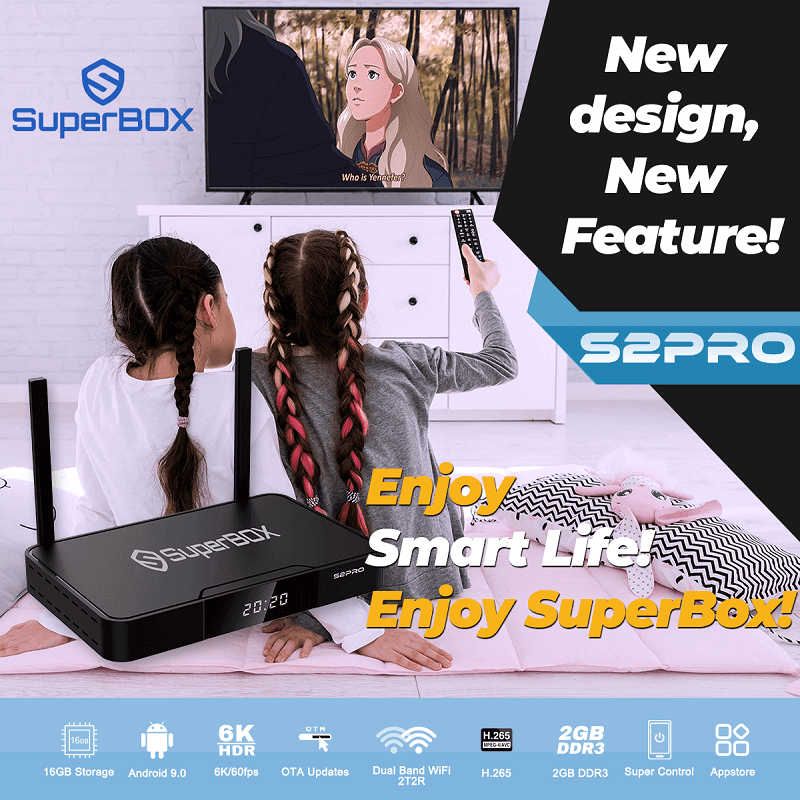 SUPERBOX S2PRO - Android Box