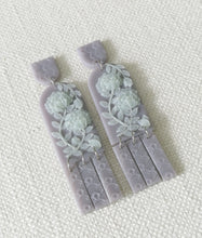 Load image into Gallery viewer, Jade Series- Lilac Grey with green flowers