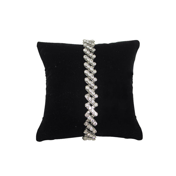 Black Velvet Pillow Bracelet/Watch Display