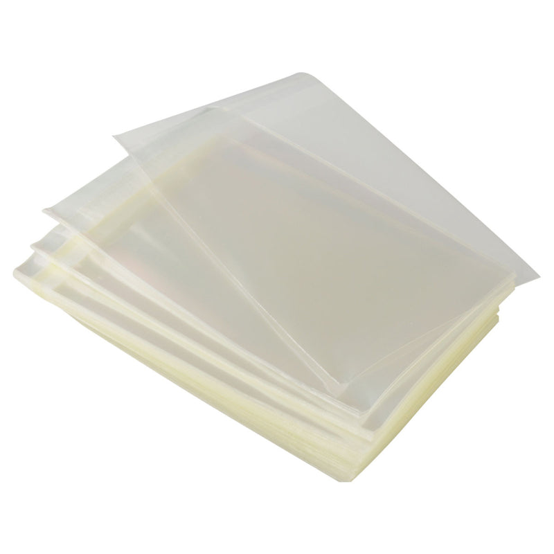 "100pc Pack Ultra Clear OPP Adhesive Seal Bags 2""x 2"" H"