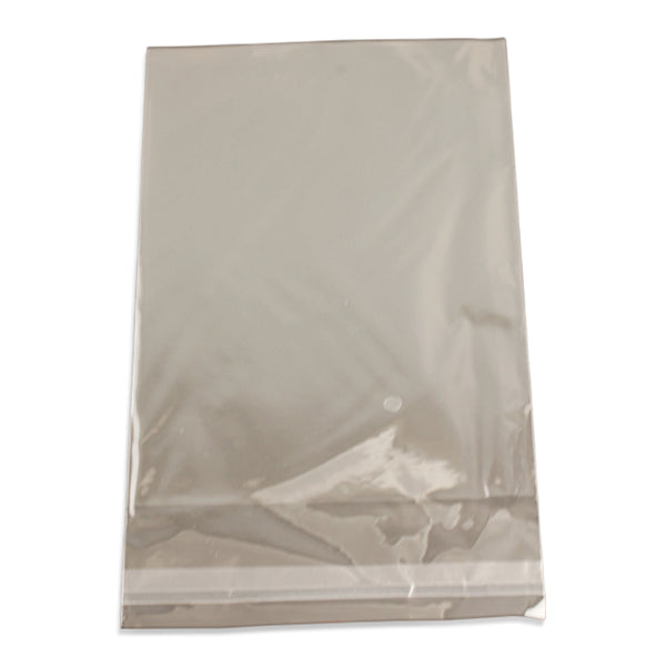 "100pc Pack Ultra Clear OPP Adhesive Seal Bags 6""x 9"" H"