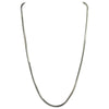 Sterling Silver 8-Sided Snake 060 2mm Necklace Chain Diamond Cut Shiny Italy