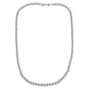 Sterling Silver Loose Hollow Bead Ball 5mm Necklace Chain Italian Italy .925