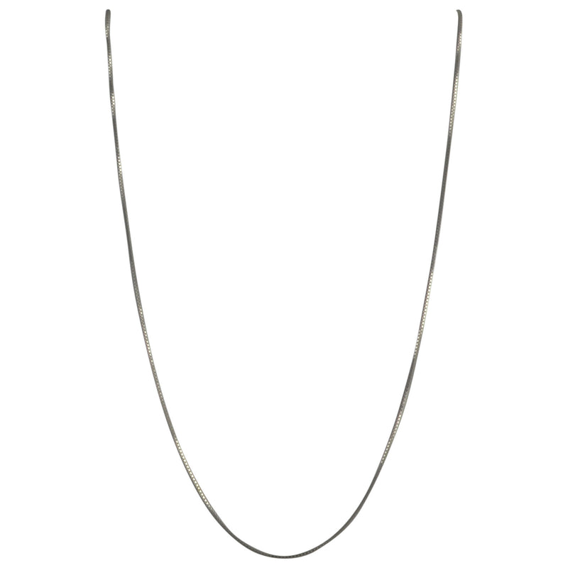 Sterling Silver Box 012 0.7mm Necklace Thin Fine Chain Italy Solid .925 Jewelry