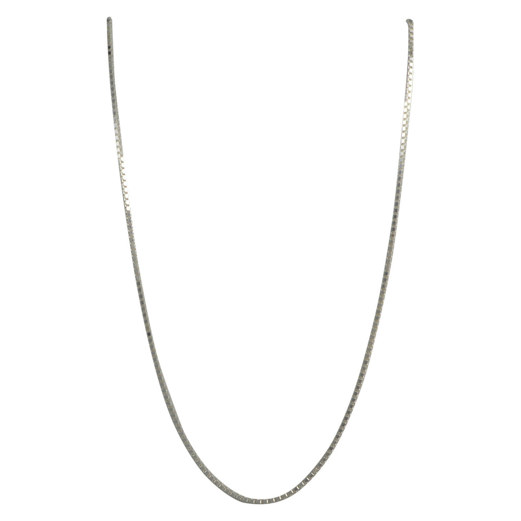 Sterling Silver Box 030 1.7mm Necklace Chain Italian Italy Solid .925 Jewelry