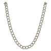 Sterling Silver Charm Double Link Parallelo 060 4mm Bracelet Chain Solid .925