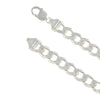 Sterling Silver Curb 300 11mm Bracelet Chain Italy Solid .925 Mens Jewelry