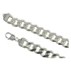 Sterling Silver Curb 350 13mm Bracelet Chain Italian Italy Solid 925 Mens Jewelry