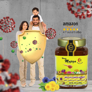Mujeza Wildflower Honey
